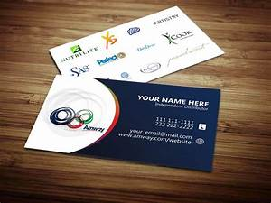 Amway ibo business cards amway business cards for Amway business cards template
