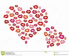 Hearts And Kisses Royalty Free Stock Images - Image: 33679129