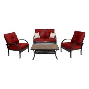 madison 4 pc deep seating set all patio collections