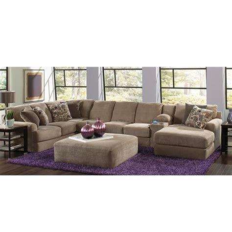 nebraska furniture mart sectional sofas flex room malibu 3 piece sectional in taupe nebraska