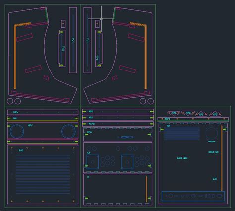 mame cabinet plans cad 257 best images about arcade machines on