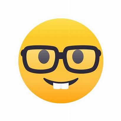 Nerd Emoji Giphy Gifs Face Emojis Smiley