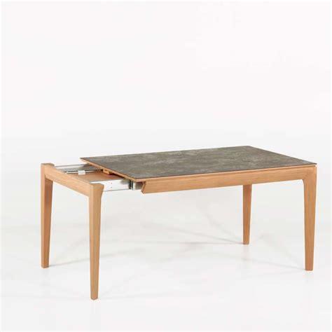 table de salle 224 manger extensible en c 233 ramique buzz 4 pieds tables chaises et tabourets