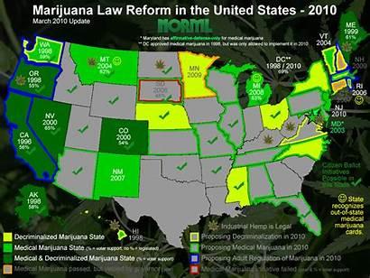 Marijuana States Laws Legal Kansas Legalize Legalization