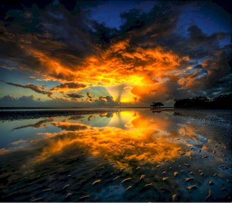 Gallery For > The Most Beautiful Sunset Ever