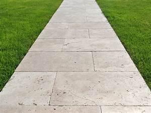 Gehweg Im Garten Anlegen : travertin medium platten als gehweg im garten terrasse ~ Sanjose-hotels-ca.com Haus und Dekorationen