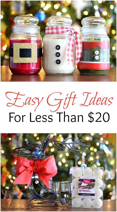 easy christmas present ideas diy christmas candles and other easy gift ideas for less than 20 diy christmas easy gifts