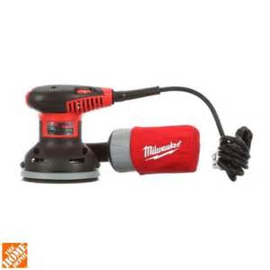 milwaukee 5 in random orbit sander 6021 21 the home depot