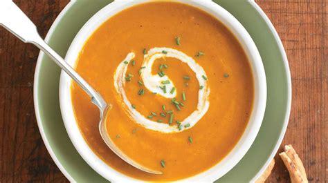 plat a cuisiner facile potage épicé aux carottes recettes iga soupe légumes