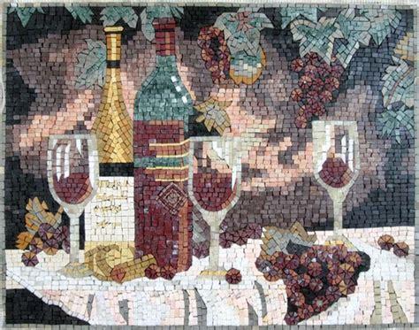 outdoor kitchen backsplash backsplash handcrafted mosaic mural contemporary tile 1295