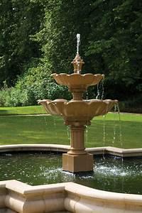 Double, Lotus, Fountain