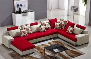 Best Fabric For Sofa Set by Modern Home Furniture L Shape Fabric Sofa Set Designs