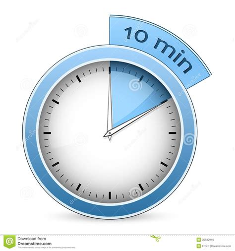 Timer  10 Minutes Royalty Free Stock Image  Image 30532946