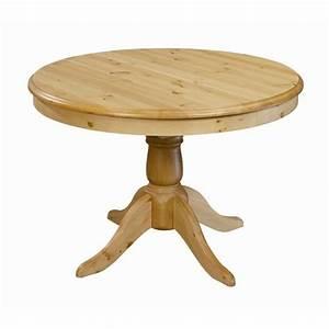 Table 12 Personnes Ikea : table ronde en pin 110 cm avec rallonge 40 cm achat vente table manger seule table ronde ~ Nature-et-papiers.com Idées de Décoration
