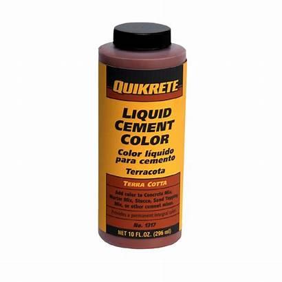 Cement Quikrete Mix Terra Cotta Liquid Lowes