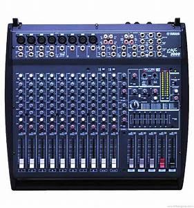 Yamaha Emx3000 - Manual - Powered Audio Mixer