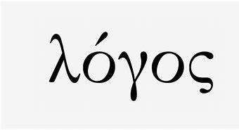 Image result for images greek word logos