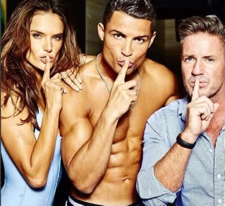more of cristiano ronaldo and alessandra ambrosio s photoshoot for gq