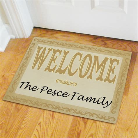 cheap personalized doormats personalized welcome door mat giftsforyounow