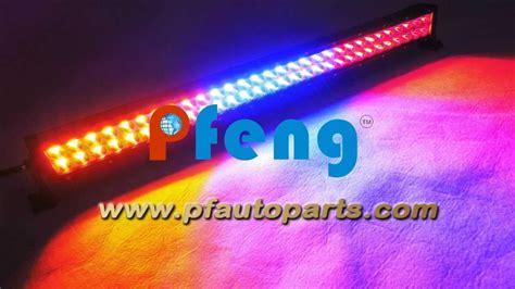 multi color strobe light multi color strobe led light bar 31 5 inch 180w