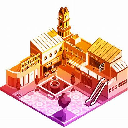 Retail Smart Spatial Mapping Illustration Analytics Growth
