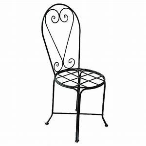 Chaise Fer Forgé : chaise en fer forg du maroc ~ Teatrodelosmanantiales.com Idées de Décoration
