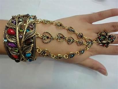 Bracelet Chain Ring Joyas Example Guardado Desde