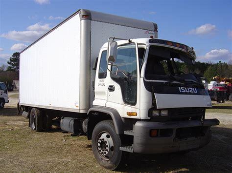Isuzu Ftr 2000 24' Box Truck Used