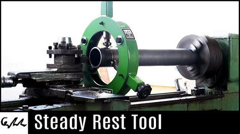 making  steady rest  metal lathe ferramentas