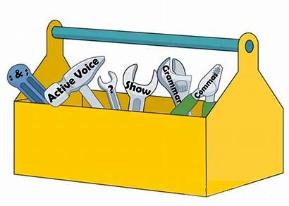 Clipart Toolbox Writing Tools Workshop Writers Transparent