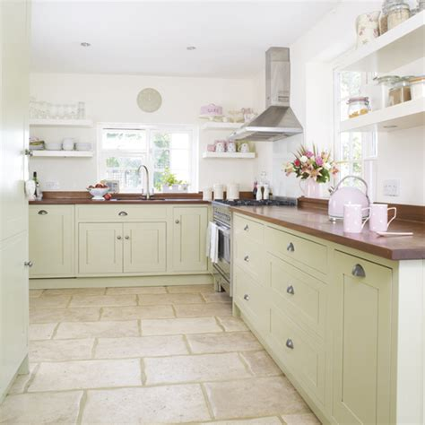 country kitchen green green kitchen colour ideas home trends ideal home 2804