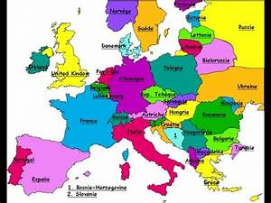 Carte Europe Media Nav Gratuit : conseils d 39 tude 1 carte de l 39 europe youtube ~ Medecine-chirurgie-esthetiques.com Avis de Voitures