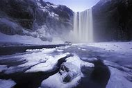 South Iceland Winter Waterfalls