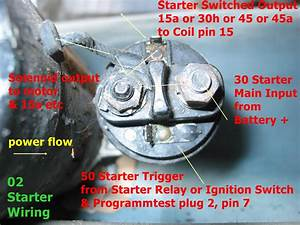 Starter  Solenoid Wiring - Bmw 2002 And Other  U0026 39 02