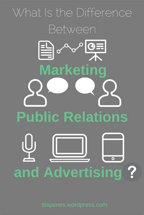 marketing and advertising what is the difference between marketing relations
