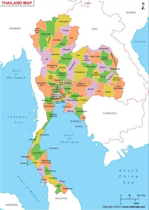thailand map maps map thailand diagram
