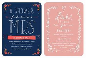 bridal shower invitations from wedding paper divas With gift card wedding shower ideas