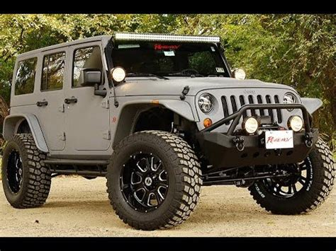 Best Of Sema 2014  Off Road Vehicles Youtube