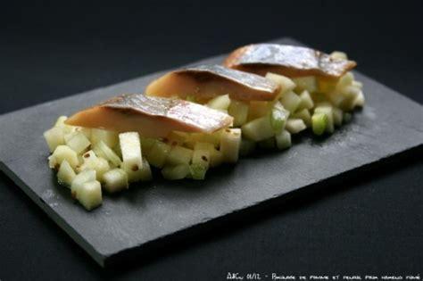 comment cuisiner le hareng brunoise de pomme et fenouil pour hareng fumé
