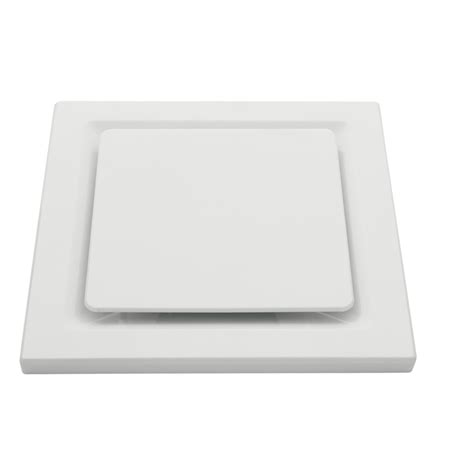 Exhaust Fans For Bathrooms Nz by Heller 250mm Square White Exhaust Fan Bunnings Warehouse