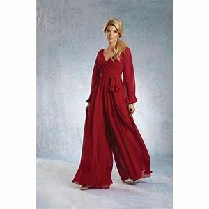 alfred angelo 7325 chiffon bridesmaid jumpsuit crazy With angelo wedding dresses sale