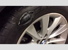 Goodyear Eagle LS2 runflat Giant Bubble blows out YouTube