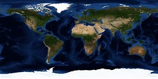 Satellite Map of the World - Universe Today