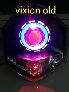 Jual Variasi Motor Projector Lens Double Angel Eyes Demon