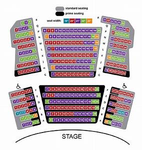 Oakdale Seating Chart Seating Chart 4 Park Square Theatre