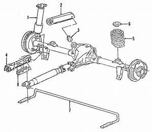 Buick Roadmaster Bracket  Stabilizer  Shaft  Bar   Rear