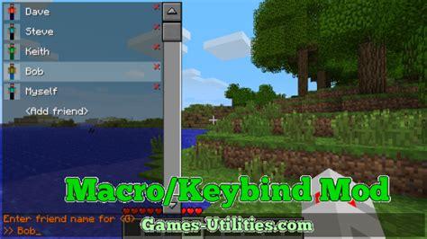 keybind mod  minecraft
