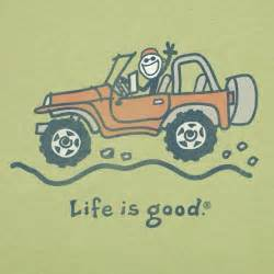 Life Is Good Jeep Clothing
