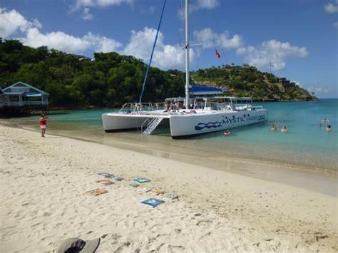 Antigua Catamaran Day Trips by Scenery Picture Of Catamaran Sailing Antigua St John S