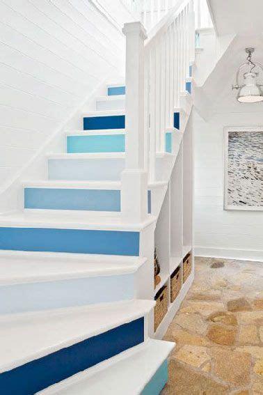 escalier peint inspiration couleur  deco house